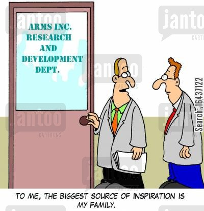 inspirations cartoon humor: 'To me, the biggest source of inspiration is my family.'