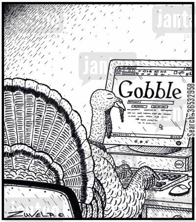 search engines cartoon humor: Gobble.