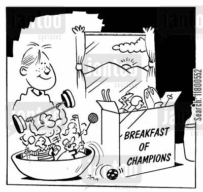 breakfast cereals cartoon humor: Breakfast of Champions