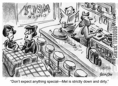 dirtiness cartoon humor: 'Don't expect anything special