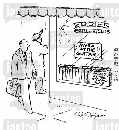 grills cartoon humor: ... Harold at the stomach pump.