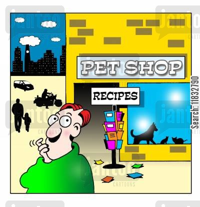 recipe cards cartoon humor: Recipes.