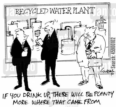 drink up cartoon humor: 'If you drink up, there will be plenty more where that came from.'
