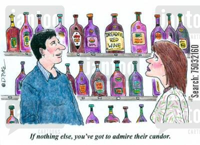 port cartoon humor: 'If nothing else, you've got to admire their candor.'