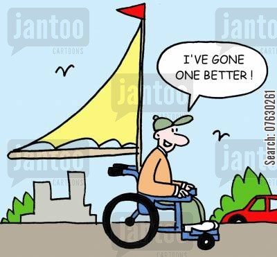 resuable fuels cartoon humor: I've gone one better!