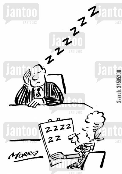 dictates cartoon humor: Dictation: 'Zzzzzz.'