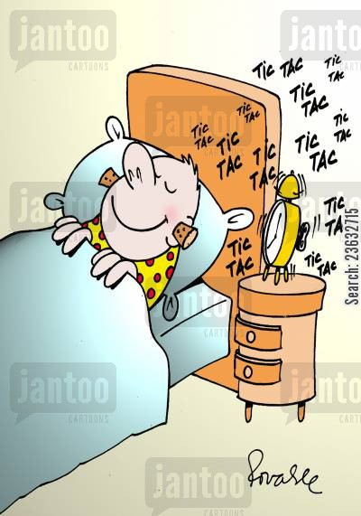 earplugs cartoon humor: Sleeping.