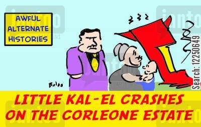 corleone cartoon humor: Awful Alternate Histories.