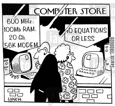 state of the art cartoon humor: Computer Shop