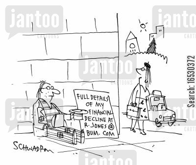 more details cartoon humor: Full Details of My Financial Decline R.Jones@bum.com