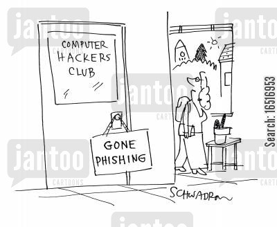 hacking clubs cartoon humor: Computer Hackers Club