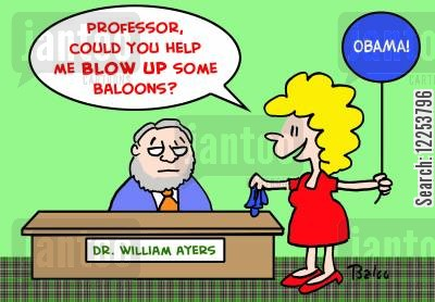 blowing up cartoon humor: 'Professor, could you help me BLOW UP some balloons?'