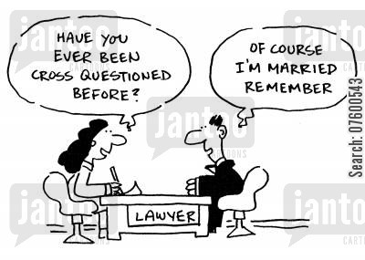 legal advisor cartoon humor: Lawyer with a client
