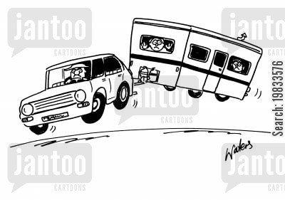 motorhomes cartoon humor: Caravan club
