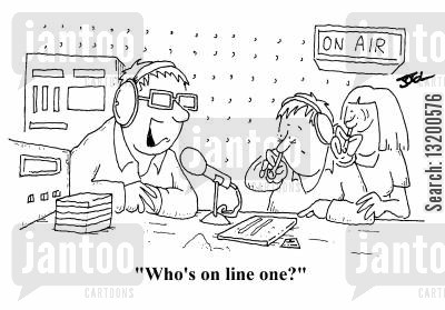 coke cartoon humor: Who's on line one?