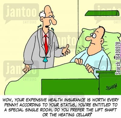 Image result for cartoon health insurance