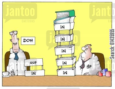 department of health cartoon humor: The art of delegation