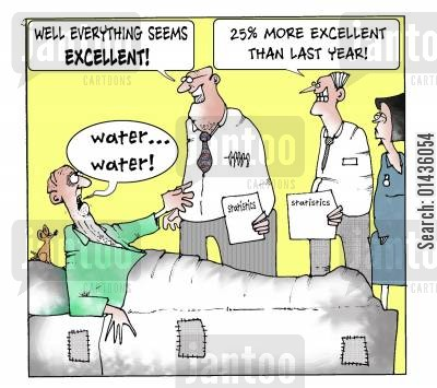 monitoring systems cartoon humor: 'Why everything seems excellent.'