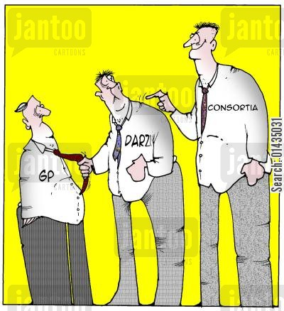 consortia cartoon humor: Consortia set to take over