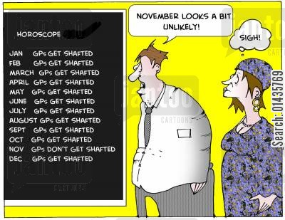 shafted cartoon humor: 'November looks a bit unlikely.'