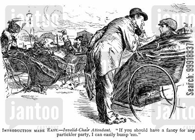 victorian wheelchair cartoon humor: Introduction Made Easy