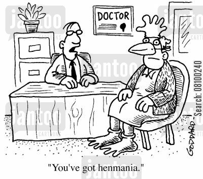 tim henman cartoon humor: You've got henmania
