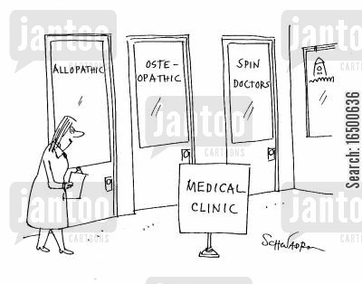 specialise cartoon humor: Medical Clinic Spin Doctors