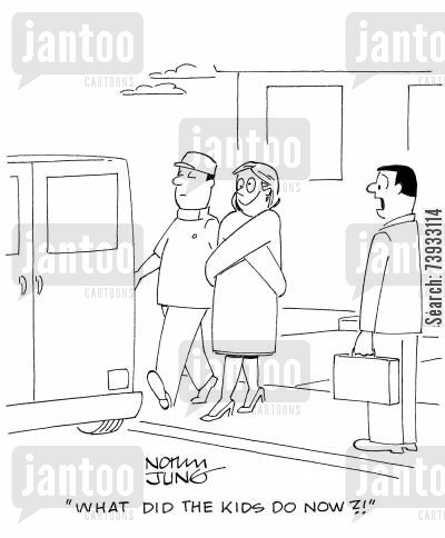 straight jacket cartoons - Humor from Jantoo Cartoons