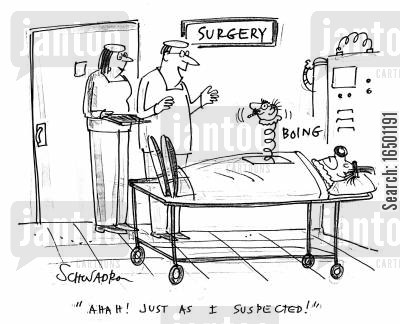 suitability cartoon humor: Ahah! Just as I suspected!