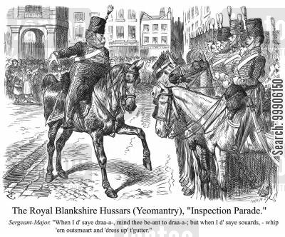 hussar cartoon humor: The Royal Hussars