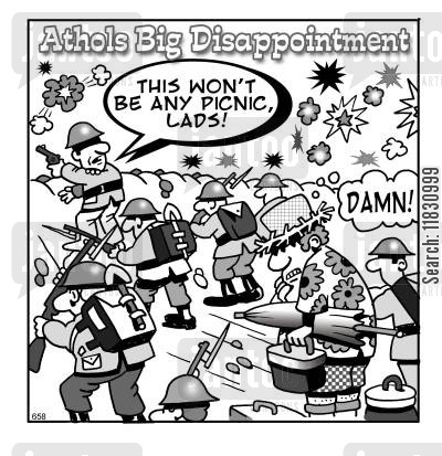disappoint cartoon humor: Athols Big Disappointment.