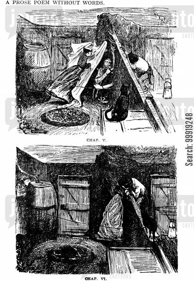 victorian soldier cartoon humor: The Giant Guardsman Chapters V and VI