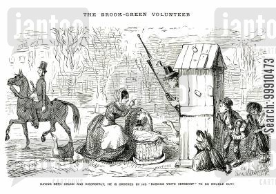 brook green volunteer cartoon humor: The Brook-Green Volunteer Pt. 7