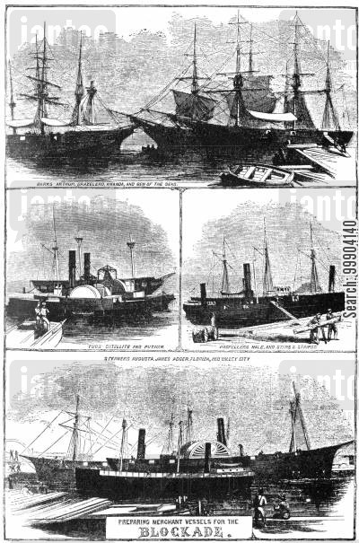 Preparing Merchant Vessels for the Blockade
