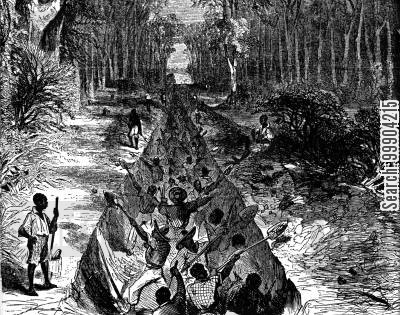 battle of vicksburg cartoon humor: Cutting the Gen. Williams' Canal Opposite Vicksburg