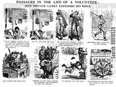 volunteer movements cartoon humor: Passages in the Life of a Volunteer