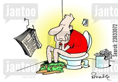 pages cartoon humor: Toilet Paper Crisis.