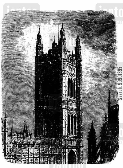 joseph bazalgette cartoon humor: Palace of Westminster
