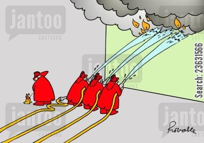 hot stuff cartoon humor: Fireman