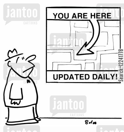 daily update cartoon humor: You are here, updated daily!
