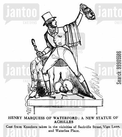 knockers cartoon humor: Henry, Marquess of Waterford