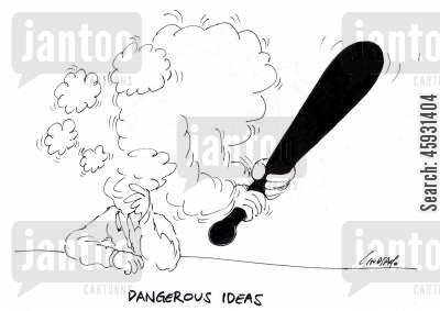 rounders cartoon humor: Dangerous ideas
