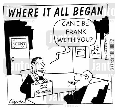 icons cartoon humor: Can I be Frank with you?