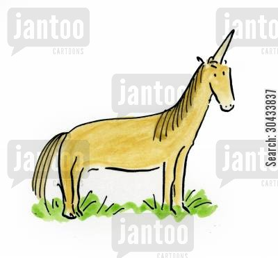mythological animals cartoon humor: Unicorn