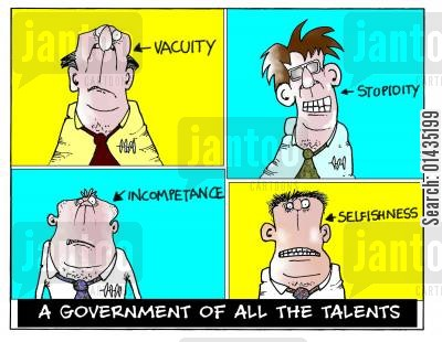 cabinet cartoon humor: A government of all the talents