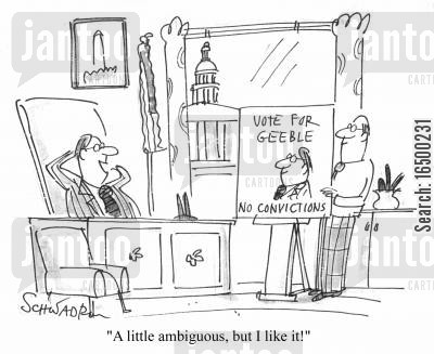 got away with it cartoon humor: A little ambiguous, but I like it!