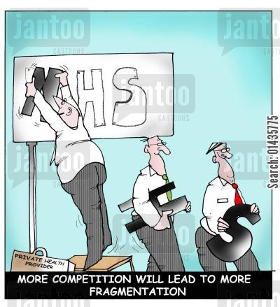 competitive markets cartoon humor: More Competition Will Lead To More Fragmentation.