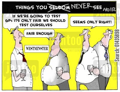 monitoring systems cartoon humor: Things you never see.