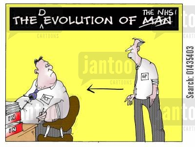 devolve cartoon humor: The devolution of the NHS