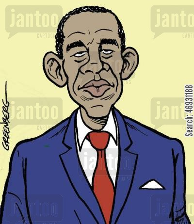 american presidents cartoon humor: Barack Obama